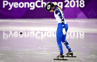 Российская шорт-трекистка Ефременкова вышла в четвертьфинал на дистанции 1000 м на ОИ-2018