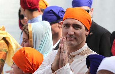 Почему в Индии плохо встретили премьера Канады, но были рады сыну Трампа