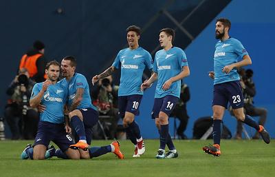«Зенит» оформил путевку в 1/8 финала Лиги Европы, разгромив «Селтик»
