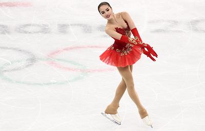 Загитова надеется, что Медведева счастлива серебру Олимпийских игр