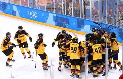 Мацек: давление на хоккеистов РФ перед финалом ОИ может стать шансом для сборной Германии