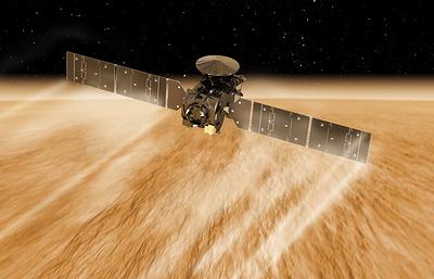 """Орбитальный модуль """"ЭкзоМарса"""" завершил опасное торможение об атмосферу Марса"""