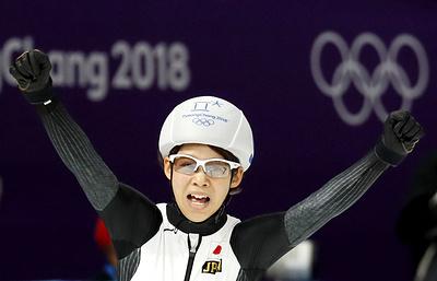 Японская конькобежка Такаги стала первой олимпийской чемпионкой в масс-старте
