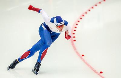 Конькобежка Голикова стала третьей на дистанции 500 м на этапе КМ в Минске