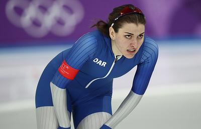 Конькобежка Голикова стала третьей в зачете Кубка мира на дистанции 500 метров