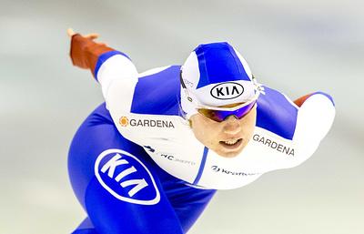 Российские конькобежки выиграли зачет Кубка мира в командном спринте
