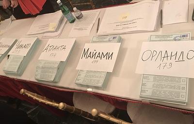 Почти 2,4 тыс. человек приняли участие в выборах президента России в посольстве в США