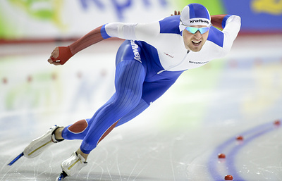 Конькобежец Юсков стал первым на дистанции 1500 м на Всероссийских соревнованиях в Коломне