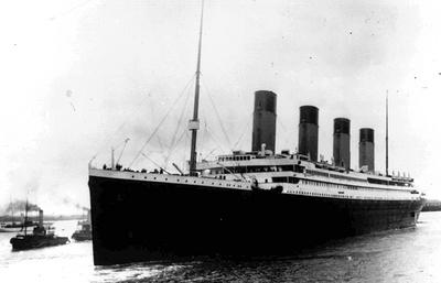 """Меню первого обеда на """"Титанике"""" продано на аукционе за $140 тыс."""