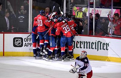 """""""Вашингтон"""" повел в серии плей-офф НХЛ с """"Коламбусом"""", Кузнецов отметился шайбой"""