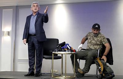 Серж Саргсян прервал переговоры с главой оппозиции