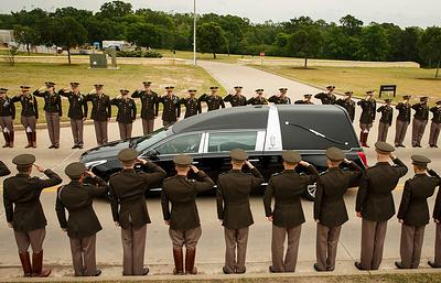 Барбару Буш похоронили на территории библиотеки имени ее супруга в Техасе