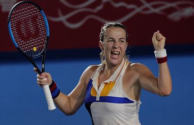Российская теннисистка Павлюченкова вышла в четвертьфинал турнира в Штутгарте