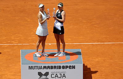 Теннисистки Веснина и Макарова не сыграют вместе на Roland Garros