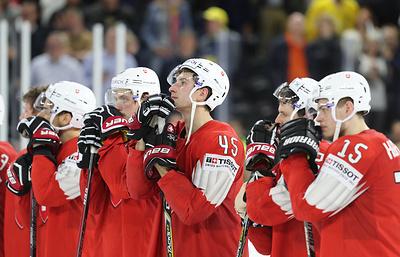 Дженони: швейцарские хоккеисты могут гордиться финалом чемпионата мира со шведами