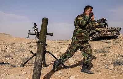 Более 1 тыс. боевиков атаковали армию Сирии в Южной зоне деэскалации