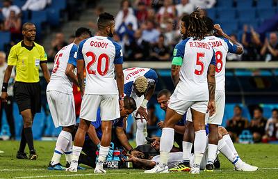 Сборная Панамы готовится к матчу ЧМ-2018 с командой Англии в полном составе