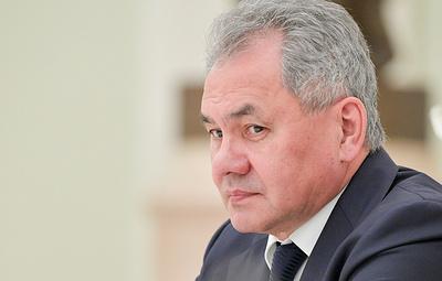 """Шойгу: Запад хотел дестабилизировать ситуацию в Крыму с помощью """"гибридной войны"""""""