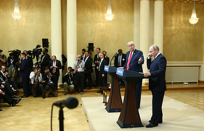 WP: Пентагон не получил информацию о результатах переговоров Трампа и Путина