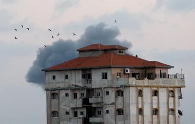 Самолеты ВВС Израиля начали масштабный налет на объекты ХАМАС в секторе Газа