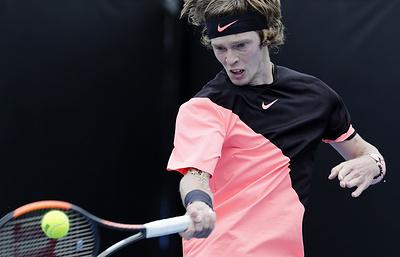 Российский теннисист Рублев поднялся на 21 позицию в чемпионской гонке ATP