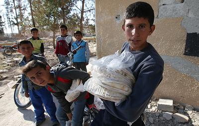 Ингушетия направит жителям Алеппо 18 тонн продуктов к празднику Курбан-Байрам