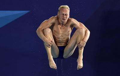 Захаров выиграл серебро ЧЕ в прыжках в воду с трехметрового трамплина