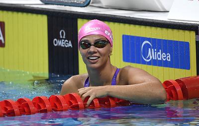 Россиянки выиграли эстафету 4х100 м комплексным плаванием на чемпионате Европы