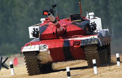"""Тип 96 — """"Стремительный дракон"""" — китайский козырь в """"Танковом биатлоне"""""""