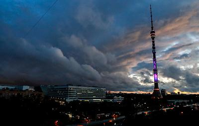 МЧС предупредило о грозе со шквалистым ветром в Москве