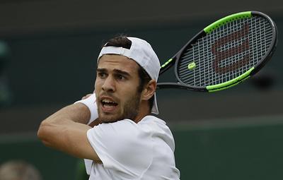 Теннисист Хачанов вышел в третий круг турнира в Цинциннати, обыграв Куэрри