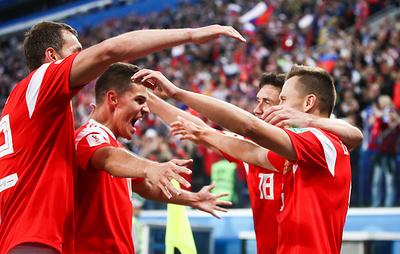 Сборная России поднялась на рекордное количество мест в рейтинге ФИФА