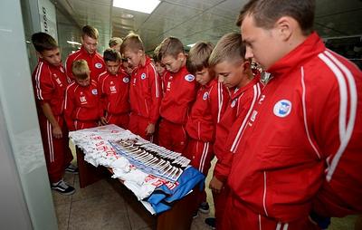 По стопам Кокорина с напутствиями Симоняна: детская сборная страны посетила РФС
