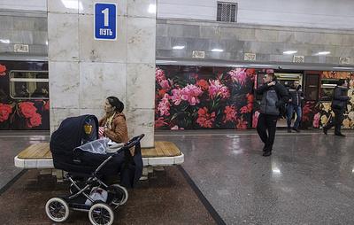 Минтранс отказался от идеи запретить провоз детей в колясках в метро