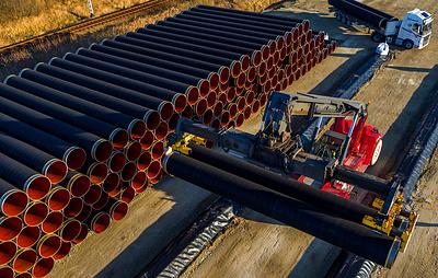 """WSJ: США могут ввести санкции по """"Северному потоку - 2"""" в течение нескольких недель"""