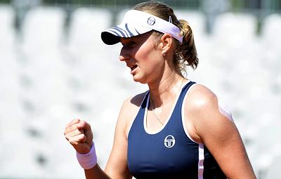 Макарова и Градецка вышли в финал турнира WTA в Цинциннати в парном разряде