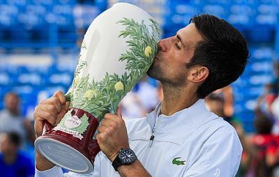Джокович поднялся на шестое место рейтинга АТР после победы в Цинциннати