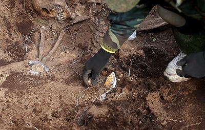 Поисковики нашли в Новгородской области захоронение советских военнопленных