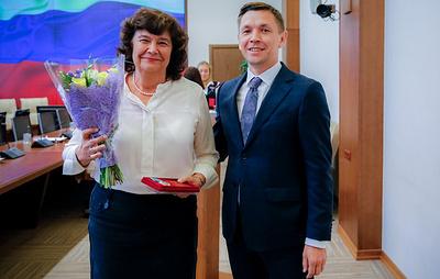 Глава Минкомсвязи России вручил награды руководителям Российской книжной палаты