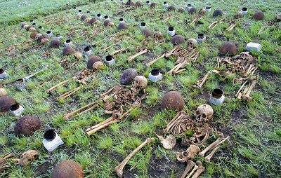 Военные железнодорожники помогли найти останки 135 защитников Сталинграда