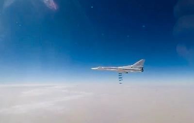 Минобороны опубликовало видео авиаудара по террористам в Идлибе