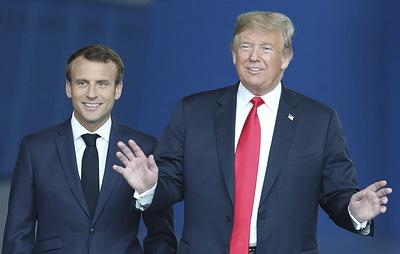Президенты США и Франции обсудили ситуацию в Сирии и вопросы торговли
