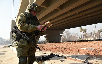 Минобороны показало трофейные взрывные устройства из Сирии военным инженерам стран АСЕАН