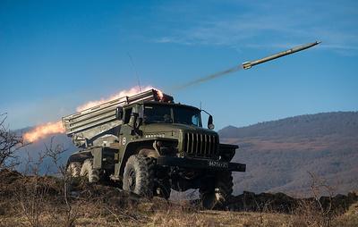 В Дагестане на учениях применили тактику огневого вала из 150 артиллерийских систем