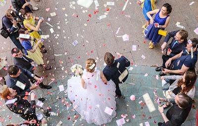 Число браков в Подмосковье за девять месяцев почти вдвое превысило количество разводов