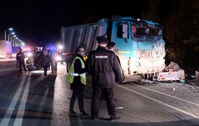 Причиной ДТП с участием автобуса в Чувашии стал выезд грузовика на встречную полосу
