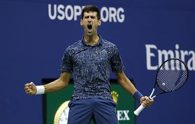 """Джокович в рекордный четвертый раз выиграл турнир ATP серии """"Мастерс"""" в Шанхае"""