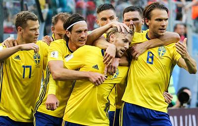 Сборная Швеции по футболу сыграла вничью с командой Словакии в товарищеском матче