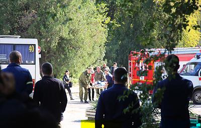 Аксенов: предполагаемый исполнитель теракта в Керчи застрелился