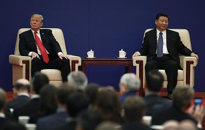 """СМИ: Трамп видит встречу с Си Цзиньпином на G20 как """"восстановление личных связей"""""""